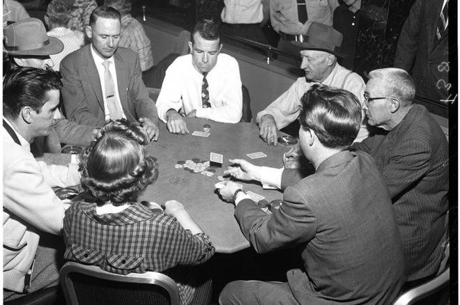 Poker B&W